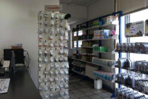 Prodotti venduti all'interno della sede